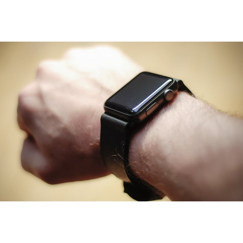 Ремешок для Apple Watch 38-42 black leather