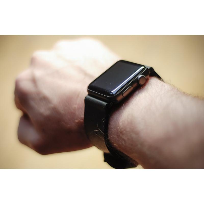Ремінець для Apple Watch 38-42 black leather
