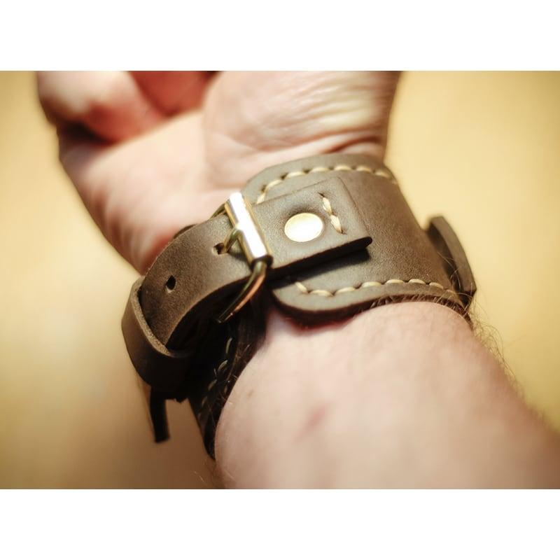 Ремінець для Apple Watch 38-42 brown leather