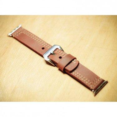 Кожаный ремешок для Apple Watch 40-44 brown leather
