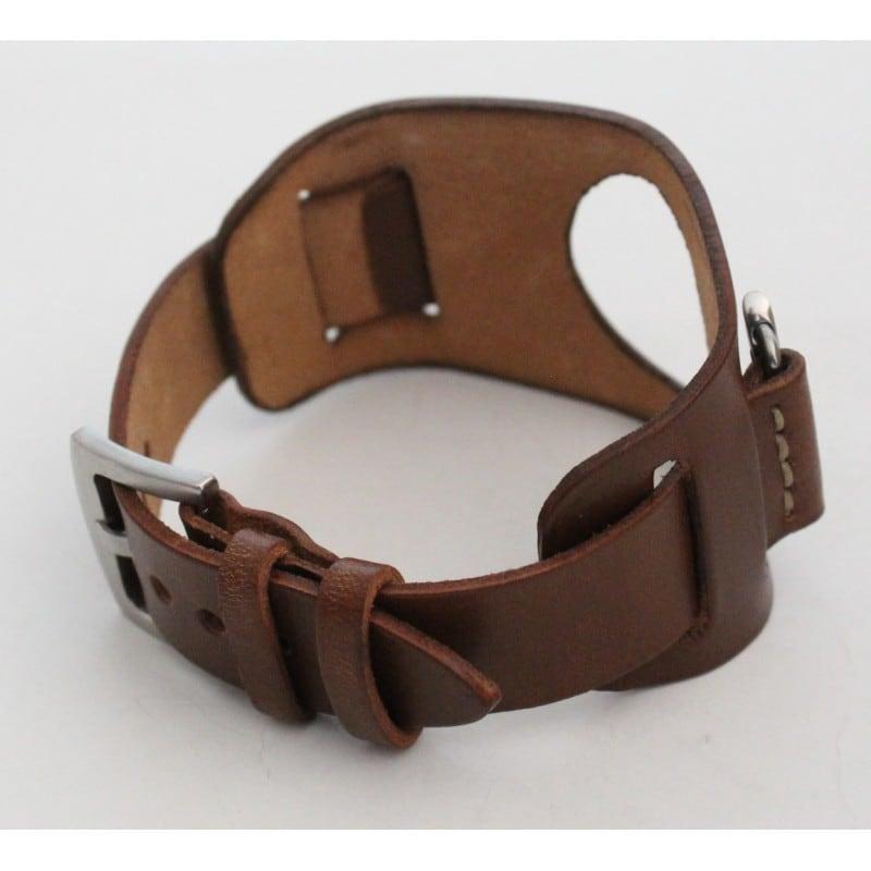 Кожаный ремешок для Apple Watch 38-42 Mocha brown leather