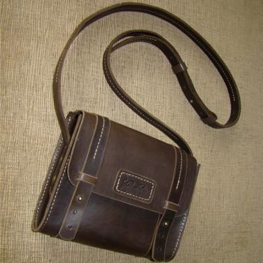 Сумка жіноча Sling Bag brown leather