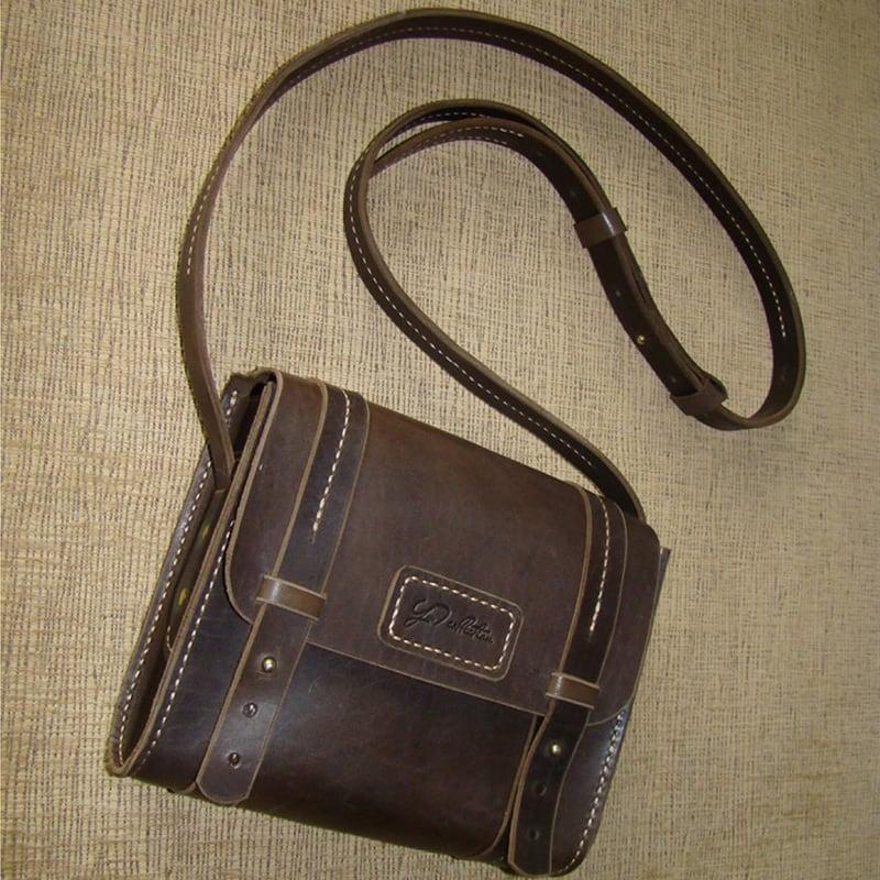Сумка женская Sling Bag brown leather