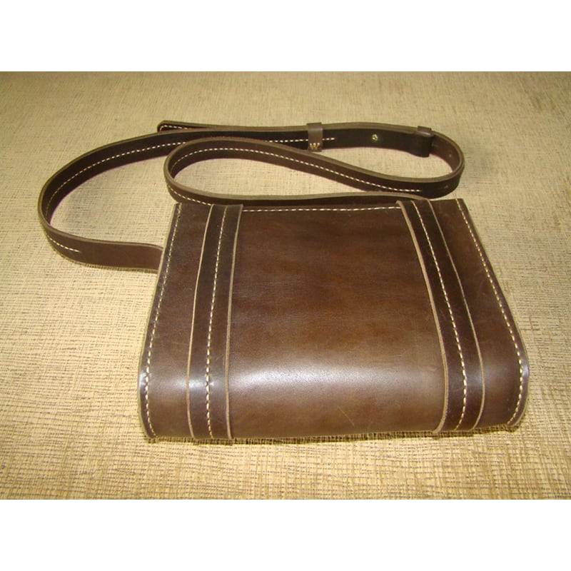 Сумка жіноча Sling Bag brown leather