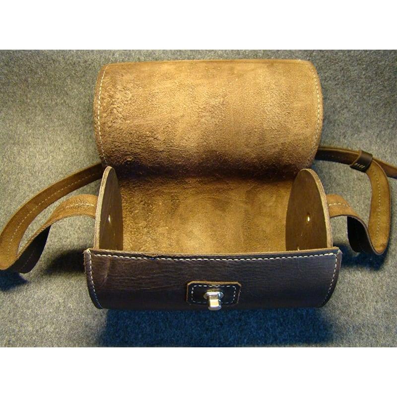 Сумка жіноча Вarrel brown leather