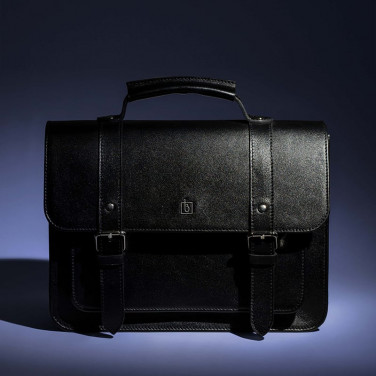 Сумка жіноча Satchel black leather