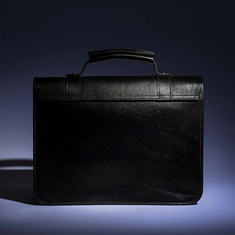 Сумка женская Satchel black leather