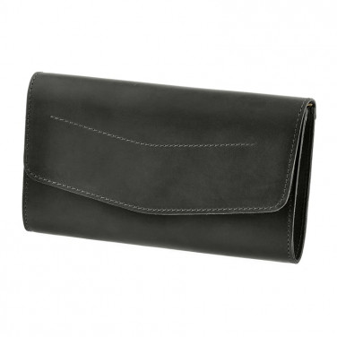 Сумка жіноча Combi Clutch black leather