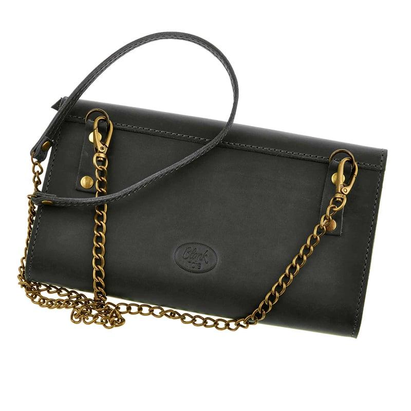 Сумка жіноча Combi Clutch black leather