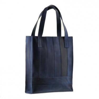 Сумка жіноча Shopper blue leather