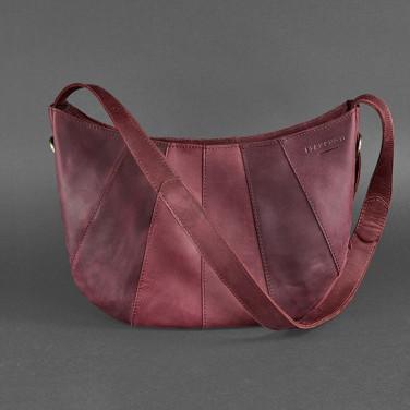 Сумка шкіряна Нobo Bag vinous leather