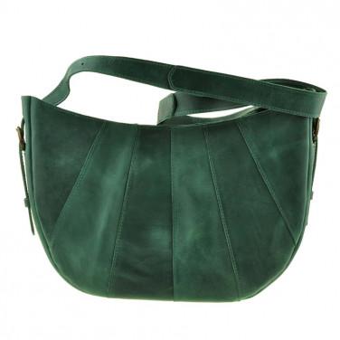 Сумка кожаная Нobo Вag green leather