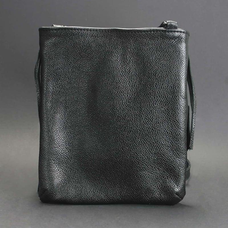 Шкіряна сумка жіноча Cross-body bag black leather