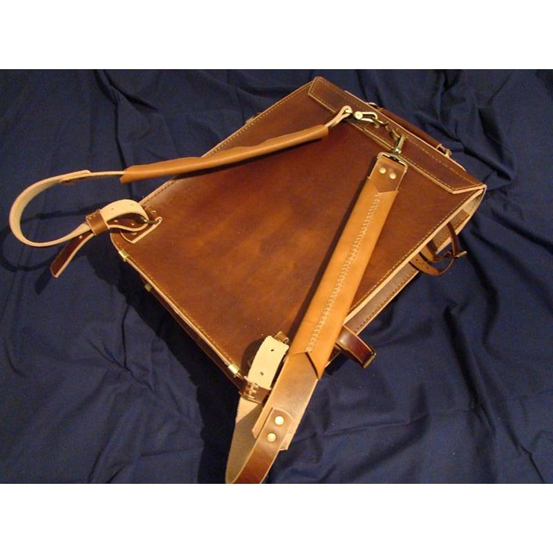 Сумка чоловіча шкіряна Backpack brown leather