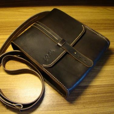 Сумка мужская Тablet Вag brown leather