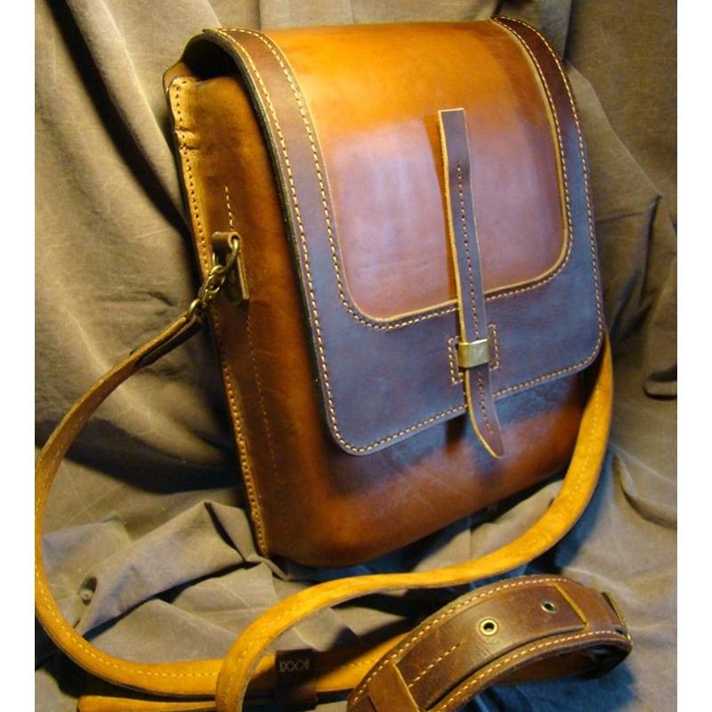 Сумка мужская кожаная Тablet combi leather