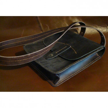Сумка мужская Тablet Вag black leather
