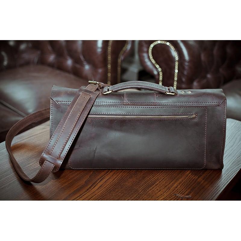 Сумка для инструментов мужская кожаная Surplus bag brown leather