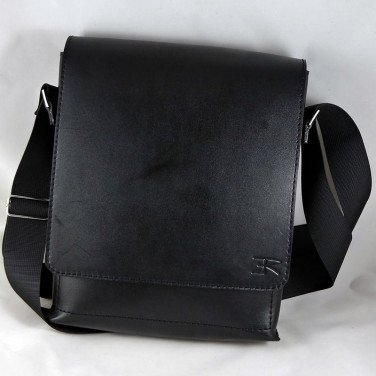 Сумка через плече Crossbogy bag black leather