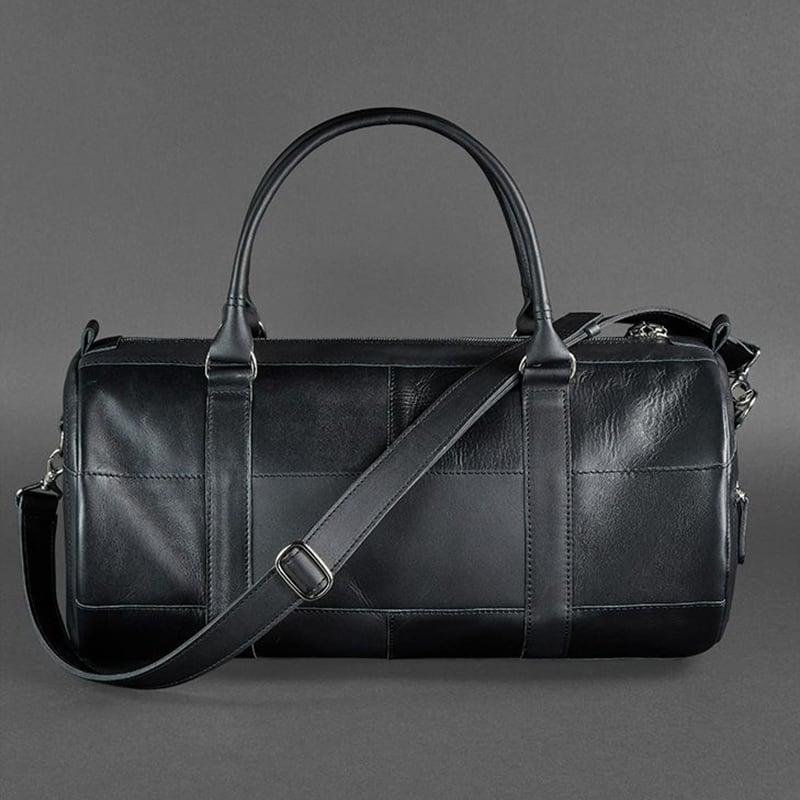 Сумка мужская через плечо Sports Вag black leather