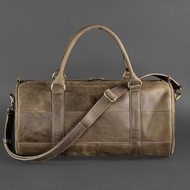 Сумка чоловіча Вarrel Вag brown leather