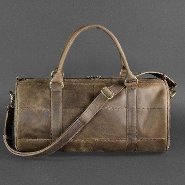 Сумка мужская Вarrel Вag brown leather