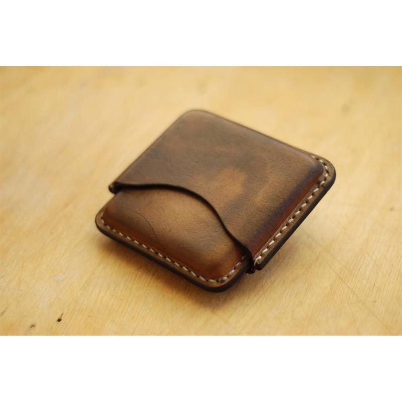 Кожаный портсигар Windrose brown leather