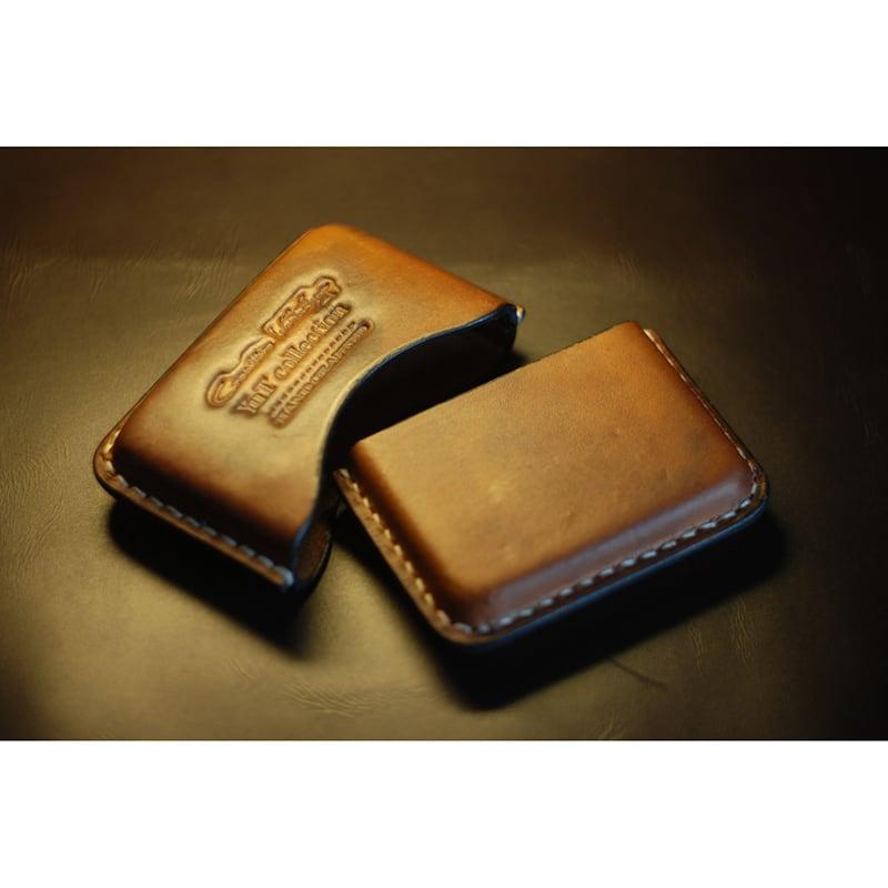 Кожаный портсигар Elegance brown leather