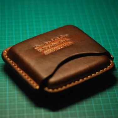Шкіряний портсигар Smart brown leather