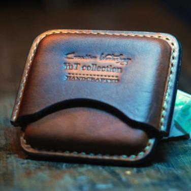 Шкіряний портсигар Texas brown leather