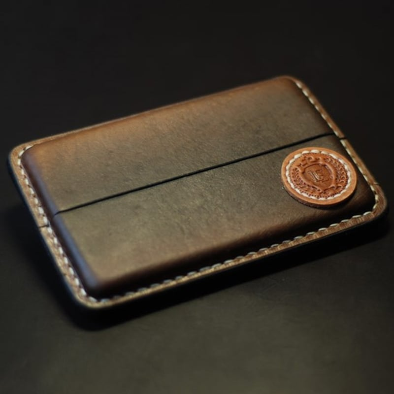 Шкіряний портсигар Nominal brown leather
