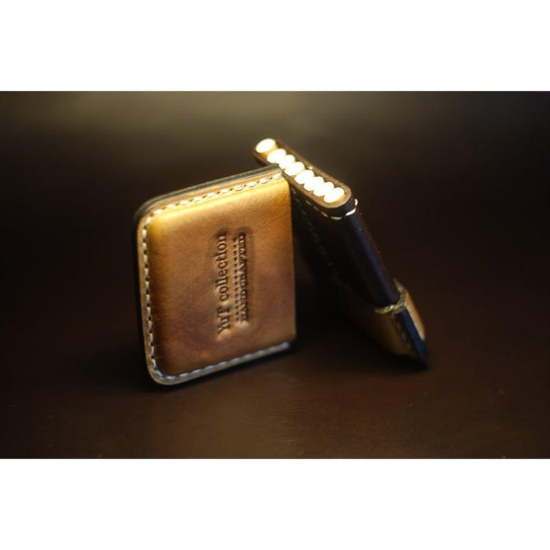 Шкіряний портсигар Light brown leather