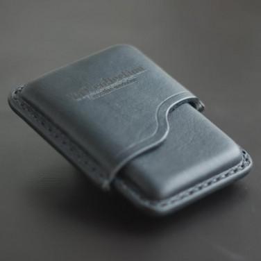 Кожаный портсигар Super slims black leather