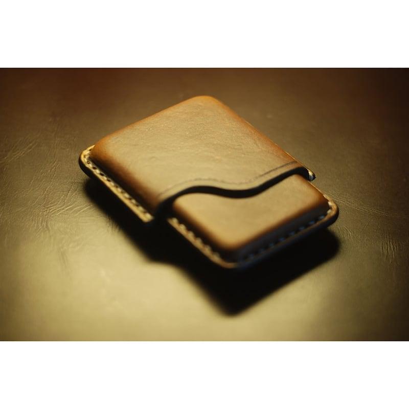 Шкіряний портсигар King size Slim brown leather