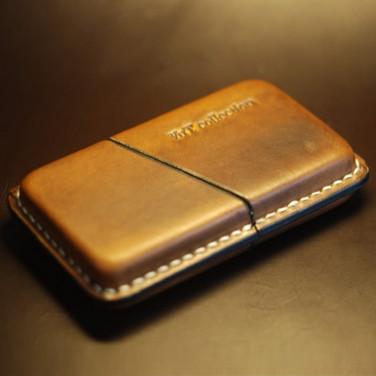 Шкіряний портсигар для сигар Havana brown leather
