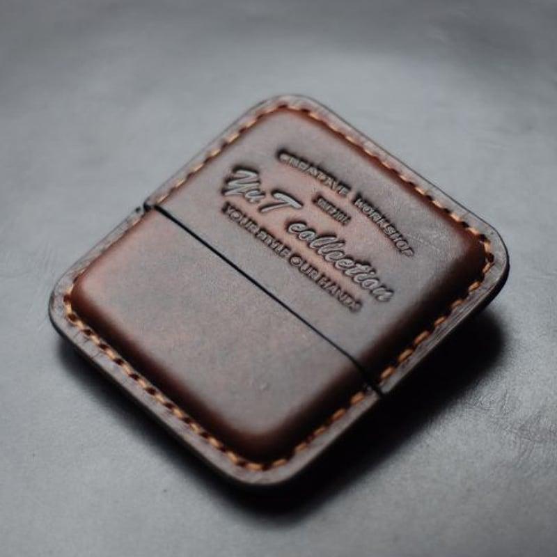 Шкіряний портсигар Cohiba Club black leather
