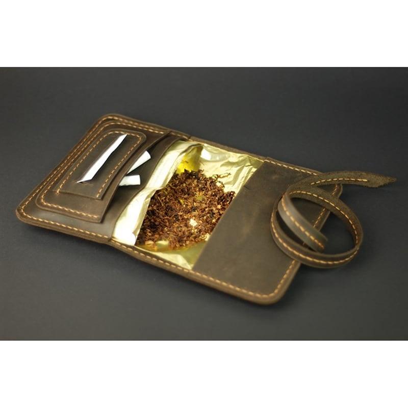 Шкіряна сумка tobacco Bag brown leather
