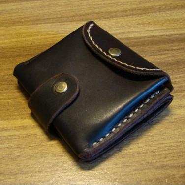 Кожаный кошелек Fanny Pak black leather