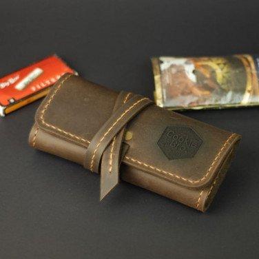 Кожаная сумка Tobacco Bag brown leather