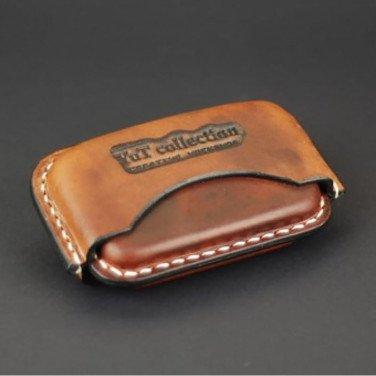 Шкіряний портсигар IQOS HEETS 22 brown leather