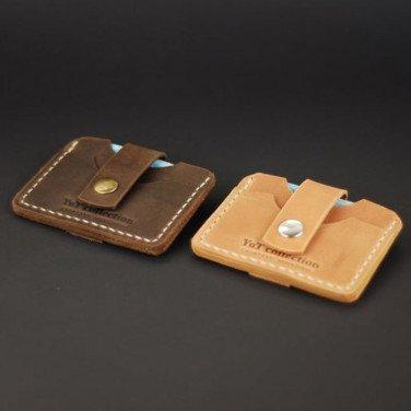 Набір шкіряних картхолдерів Сonvenience brown leather