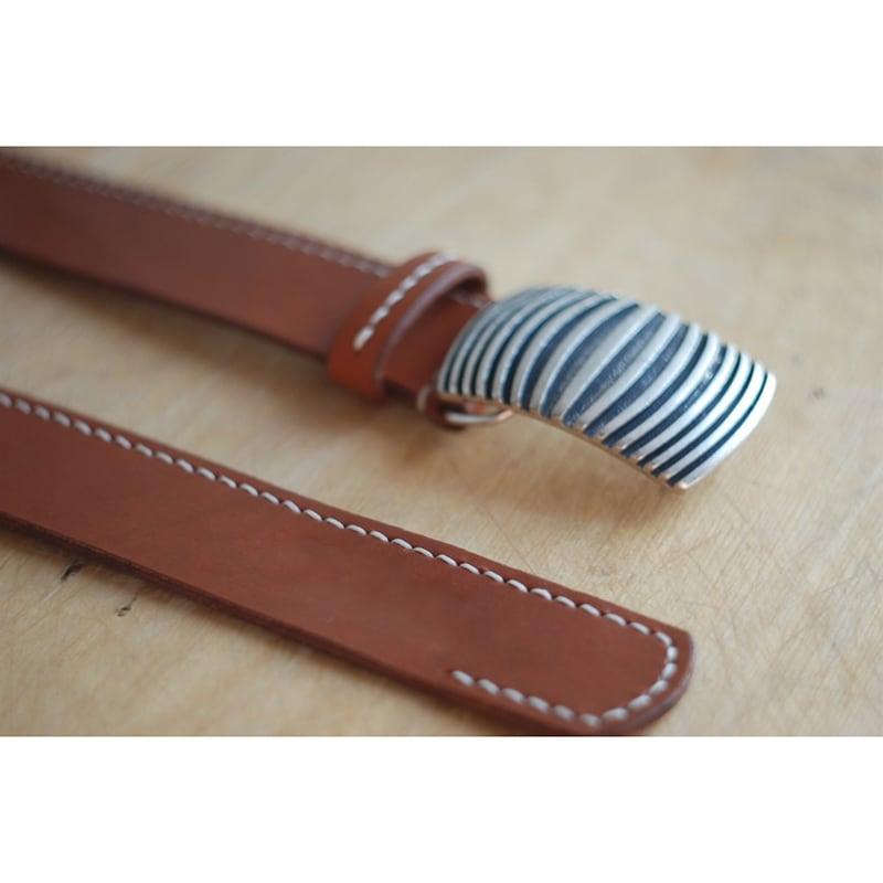 Кожаный ремень Вelt Duplex Brown Leather