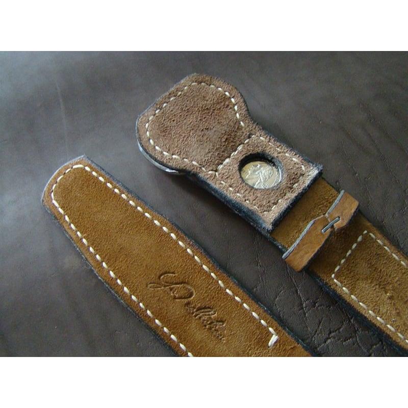 Мужской кожаный ремень Your Style Brown Leather