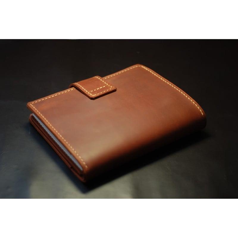 Шкіряний блокнот Dallas brown leather