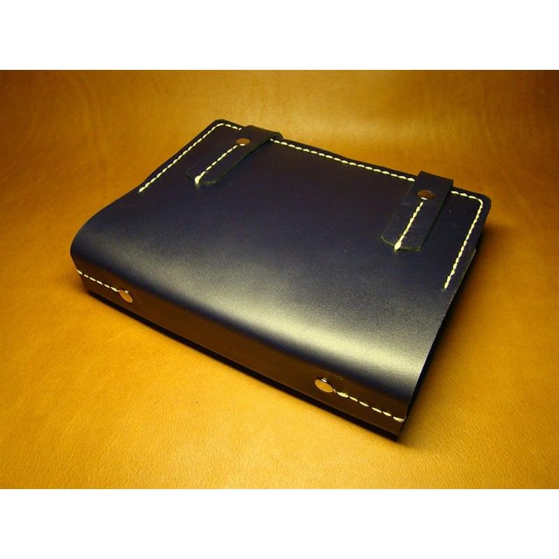 Кожаный блокнот-ежедневник для мужчин Austin blue leather
