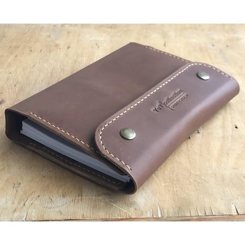 Кожаный блокнот на кольцах Arlington brown leather
