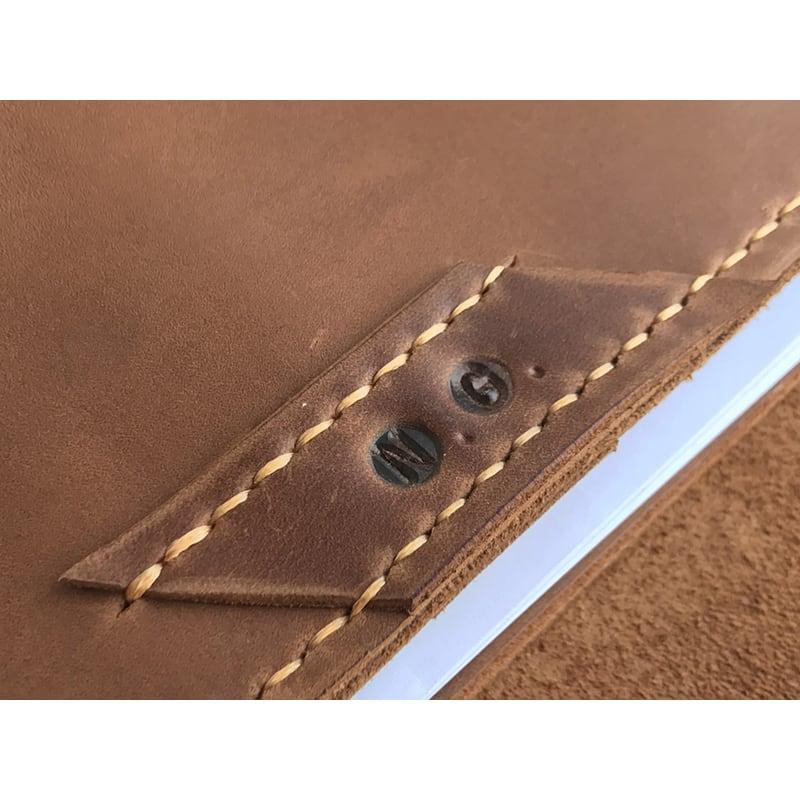 Шкіряний блокнот на кільцях Arlington brown leather