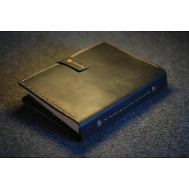 Шкіряний щоденник А5 для Apple iPad mini Frisco black leather