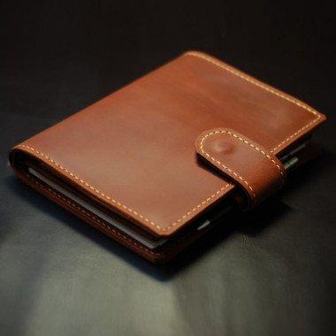 Кожаный блокнот Dallas brown leather