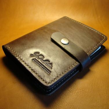 Кожаный ежедневник ручной работы San Antonio brown leather